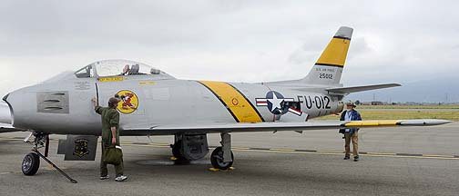 North American F-86F Sabre NX186AM, May 14, 2011